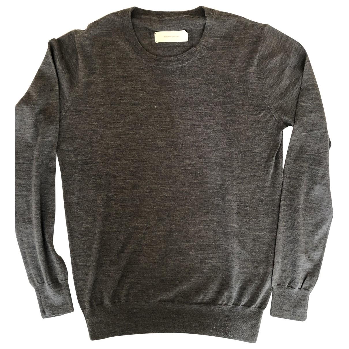 Mauro Grifoni \N Pullover.Westen.Sweatshirts  in  Grau Wolle