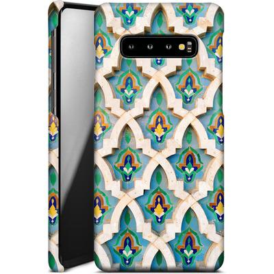 Samsung Galaxy S10 Plus Smartphone Huelle - Moroccan Mosaic von Omid Scheybani