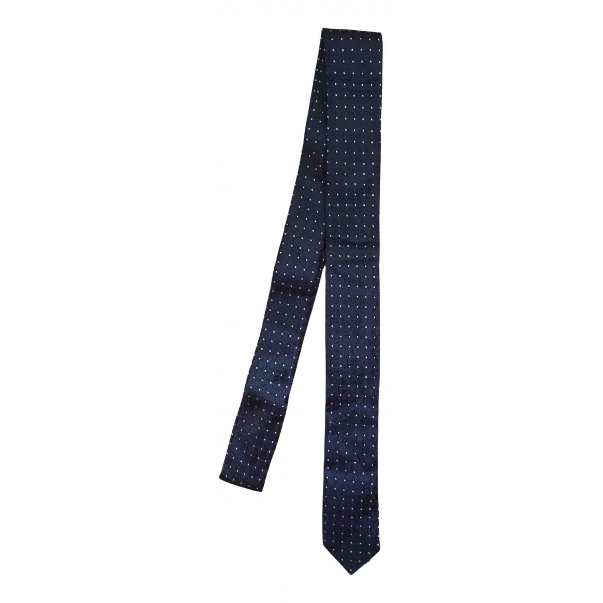 Les Hommes \N Krawatten in  Schwarz Seide