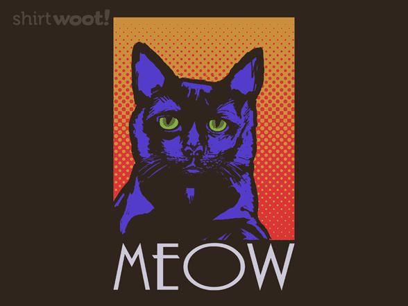 Neon Meow T Shirt