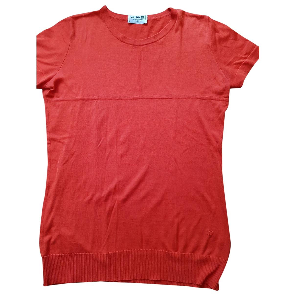 Chanel \N Red Cotton Knitwear for Women 44 IT