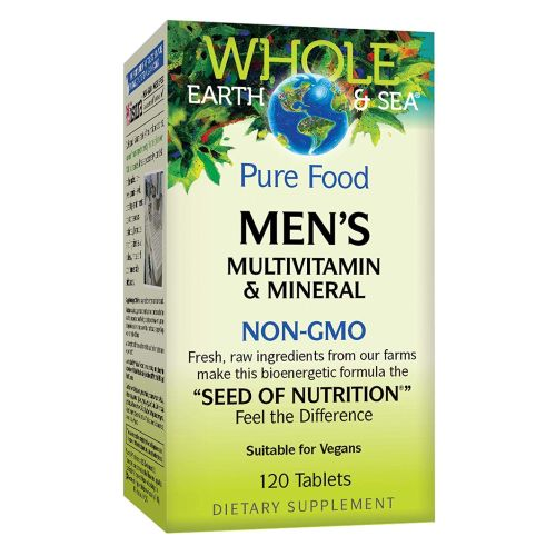 Mens Multivitamin & Mineral 120 Tabs by Natural Factors