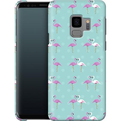 Samsung Galaxy S9 Smartphone Huelle - Two Flamingos von caseable Designs
