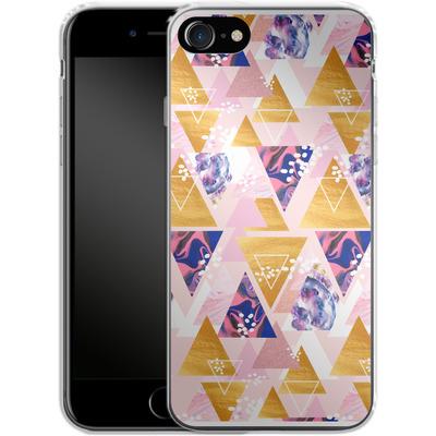 Apple iPhone 8 Silikon Handyhuelle - Blush GEO von Mukta Lata Barua