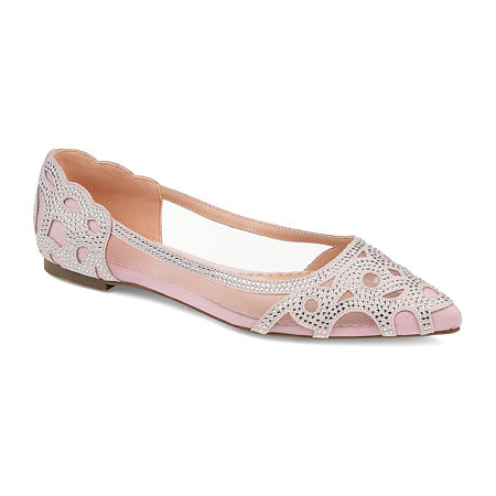 Journee Collection Womens Batavia Slip-On Shoe, 9 Medium, Pink