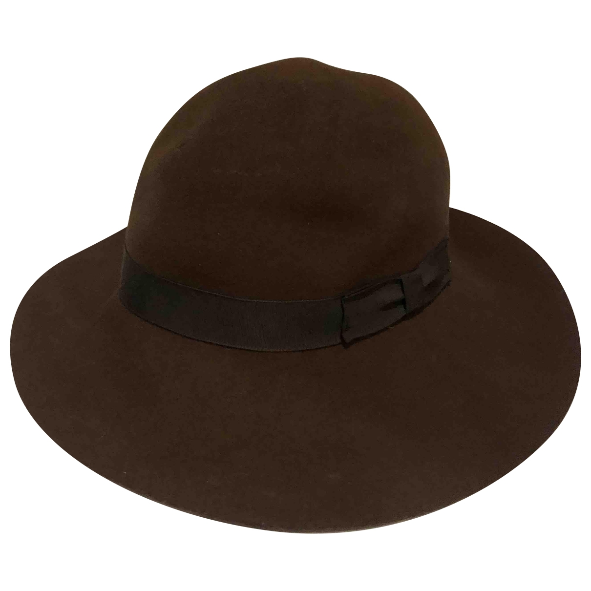 Rag & Bone \N Brown Wool hat for Women 54 cm