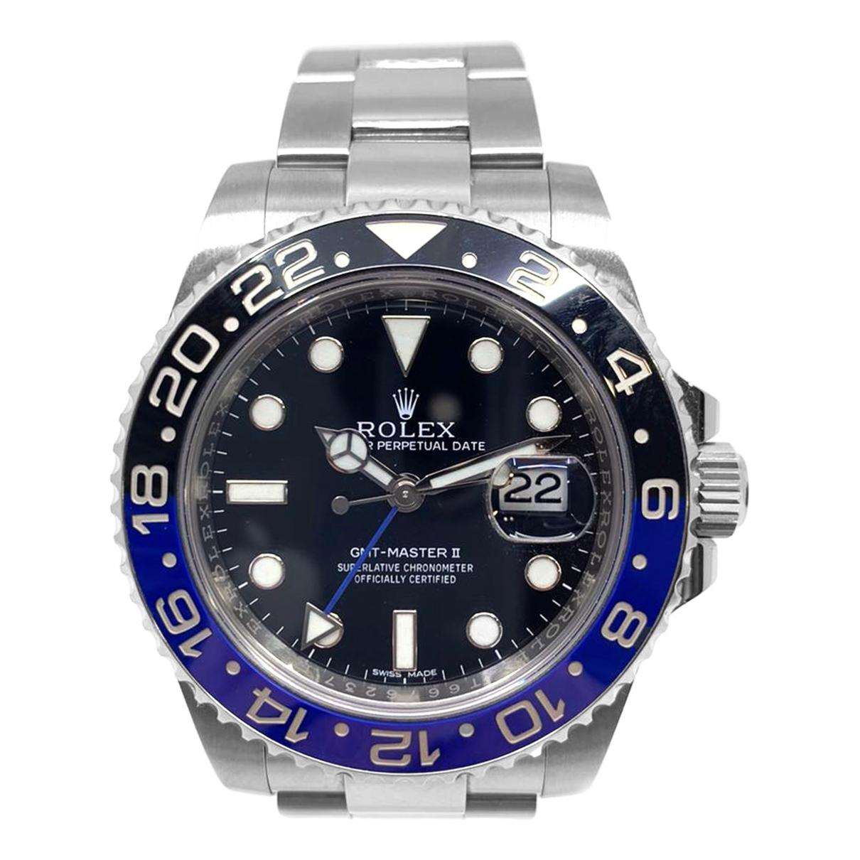 Rolex - Montre GMT-Master II pour homme en acier