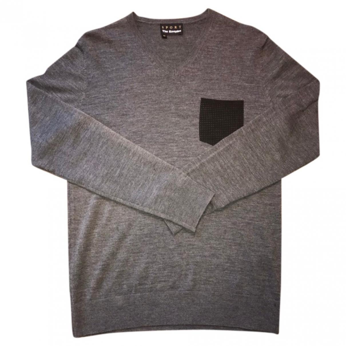 The Kooples \N Anthracite Wool Knitwear & Sweatshirts for Men XS International