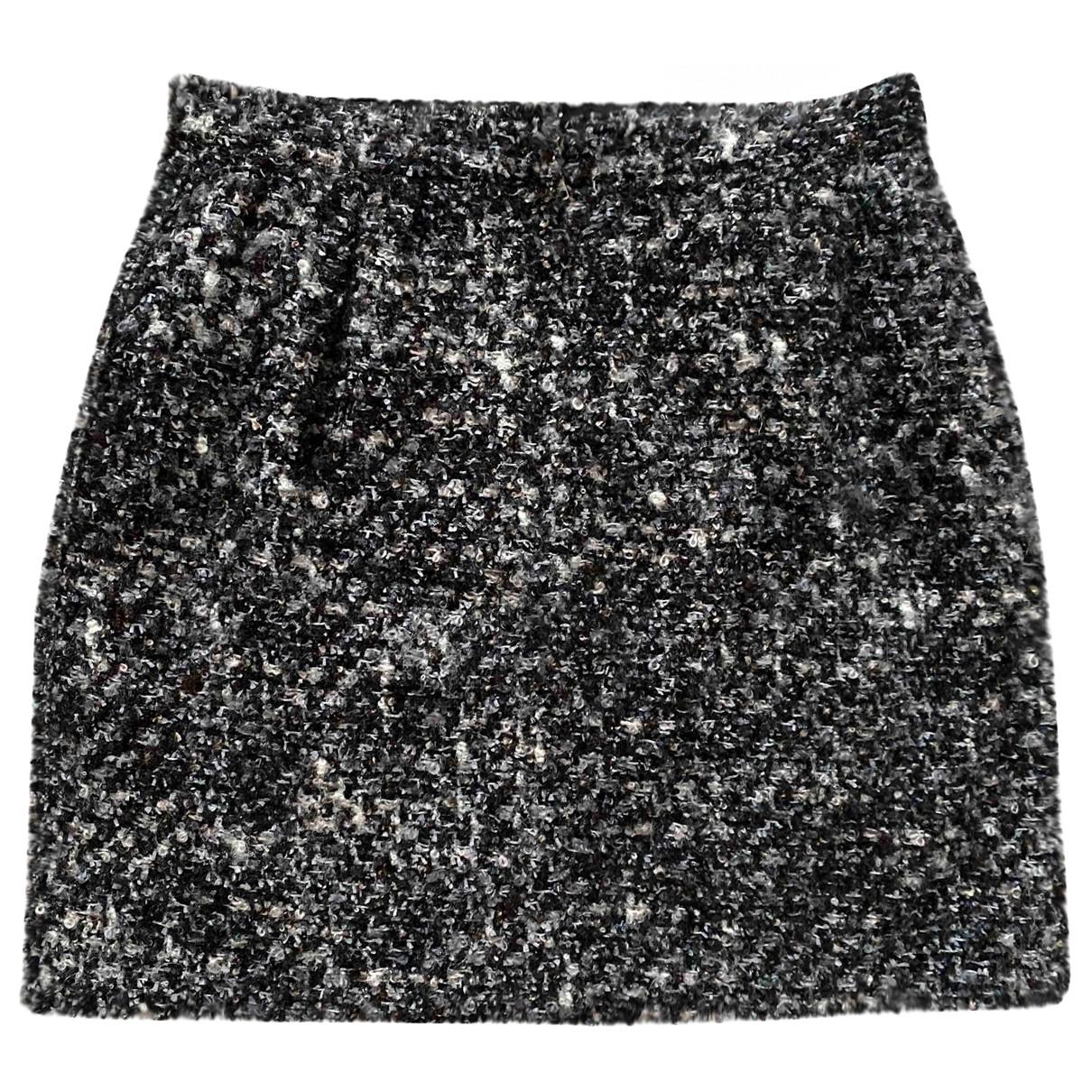 Dolce & Gabbana \N Grey Wool skirt for Women 42 IT