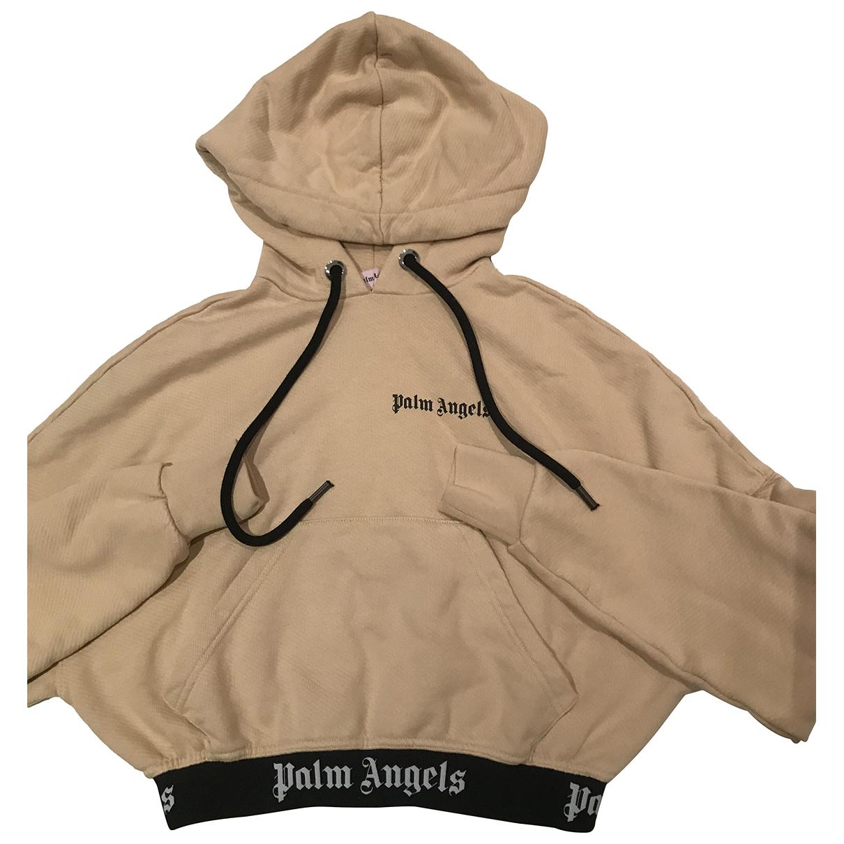 Palm Angels N Beige Cotton Knitwear for Women 1 US