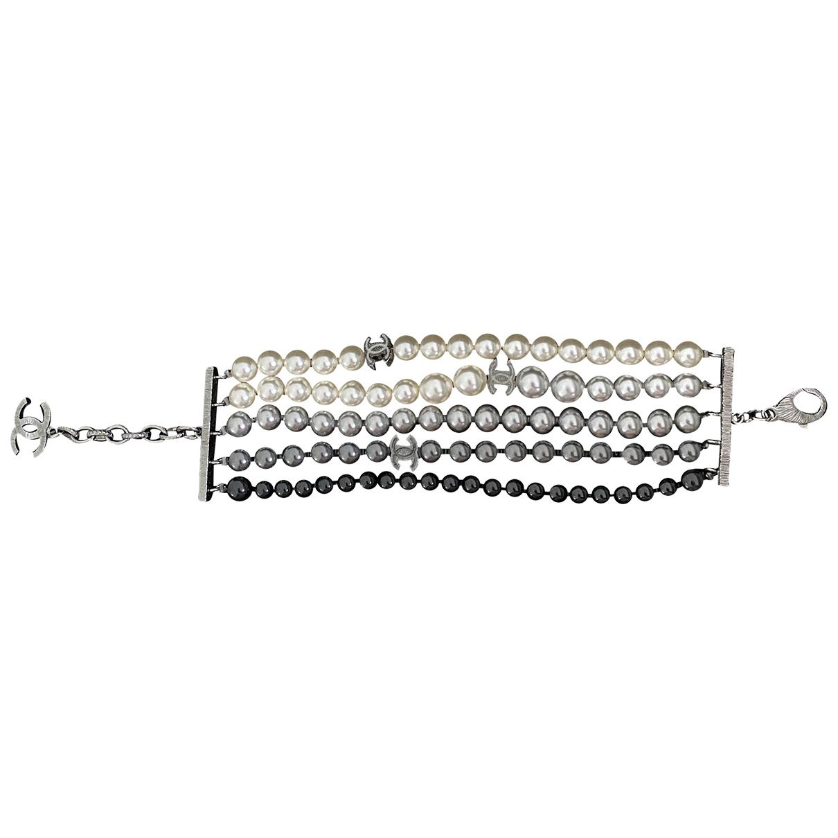 Chanel - Bracelet CC pour femme en perles - multicolore