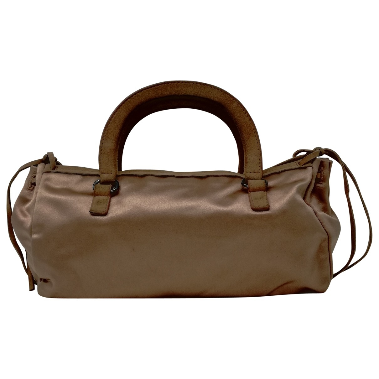 Prada \N Pink Silk handbag for Women \N