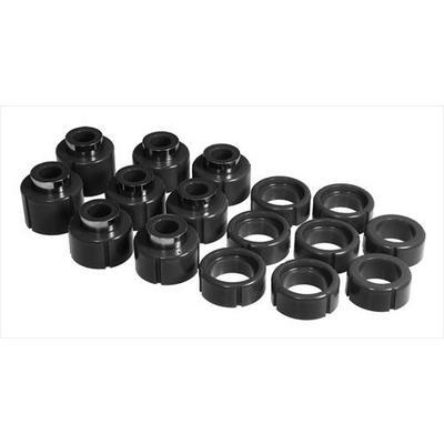 Prothane Motion Control Body Mount Kit (Black) - 7-113-BL