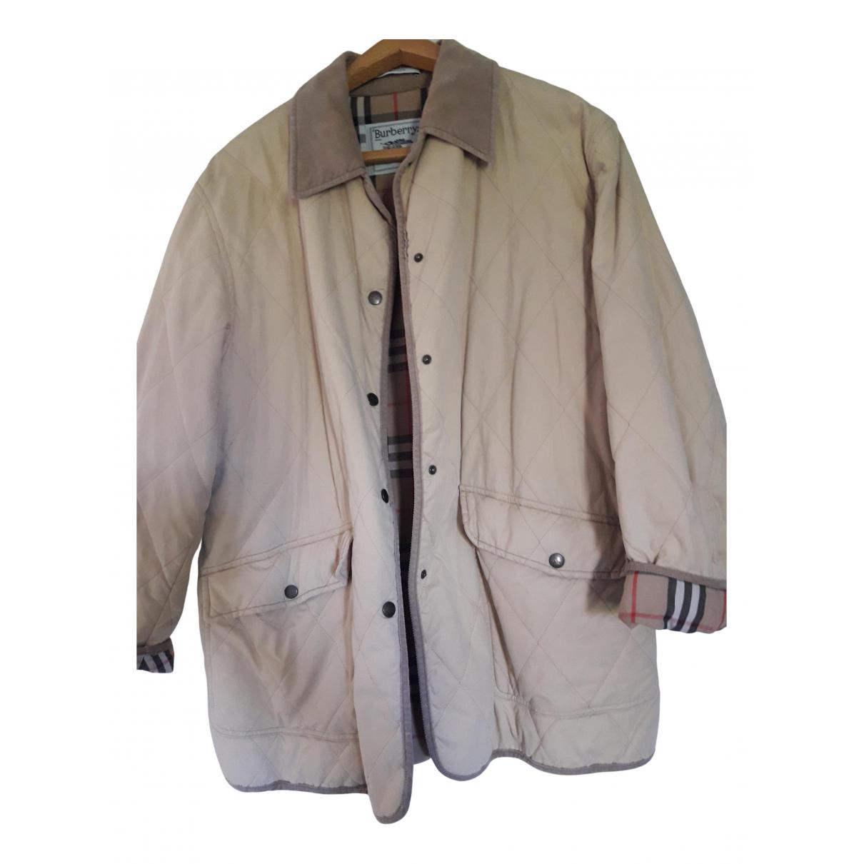 Burberry - Veste   pour femme en coton - beige