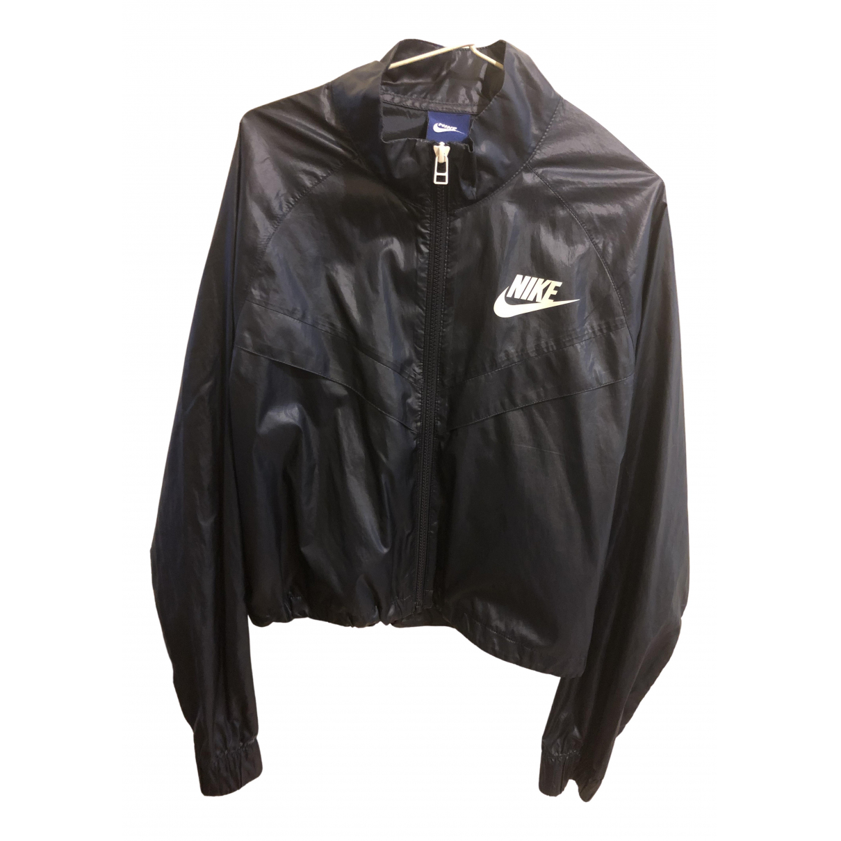 Nike \N Navy jacket for Women 36 FR