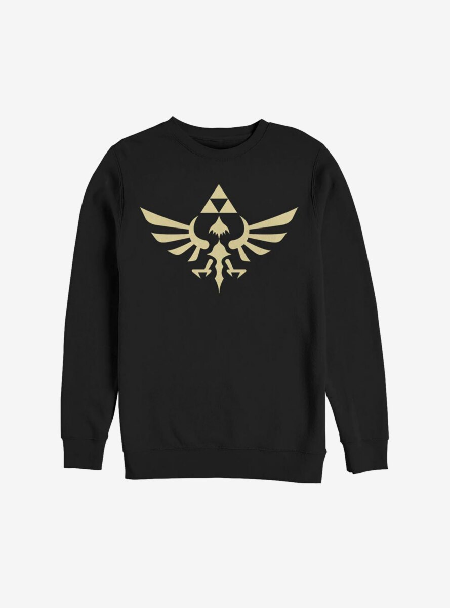 Nintendo The Legend Of Zelda Triumphant Triforce Sweatshirt