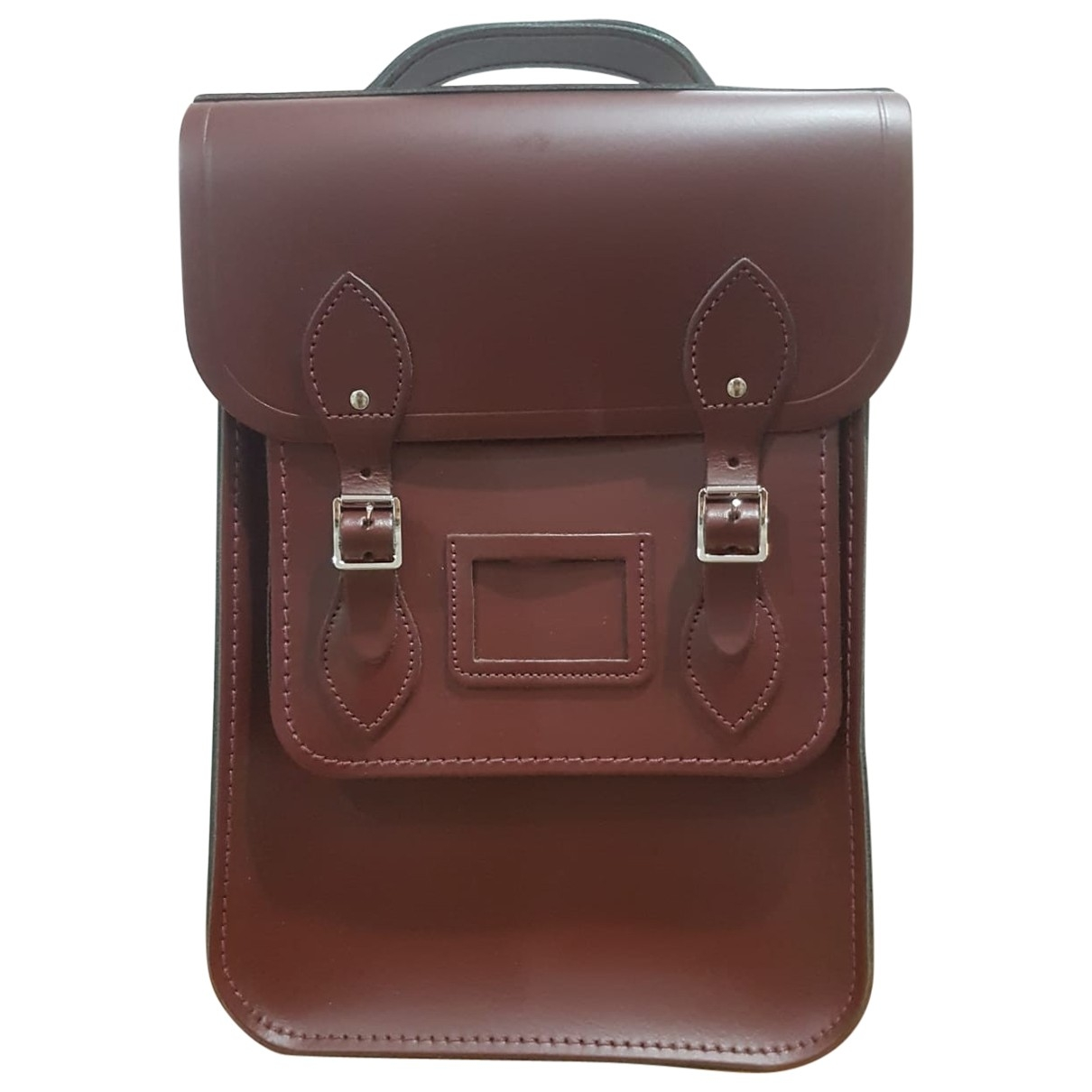 Cambridge Satchel Company \N Burgundy Leather backpack for Women \N