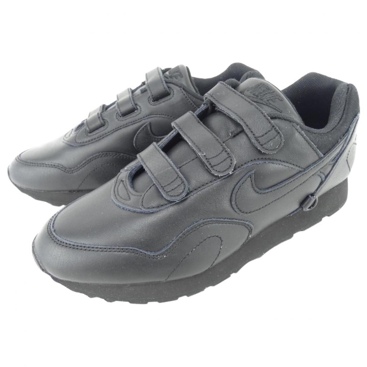 Nike X Comme Des Garçons \N Black Cloth Trainers for Women 8 US
