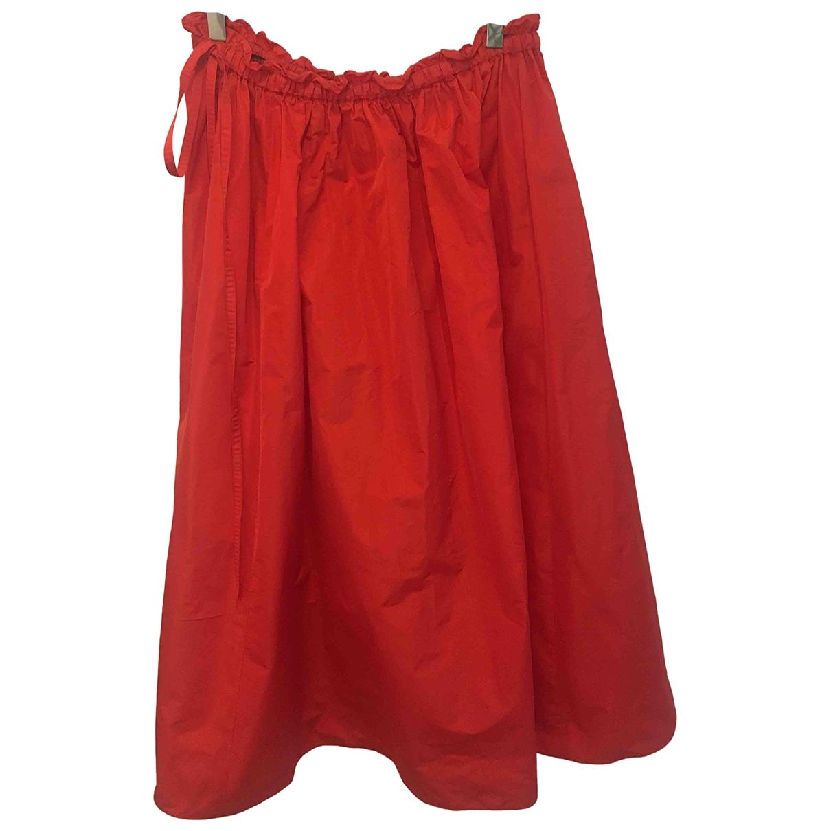 Kenzo \N Rocke in  Rot Polyester