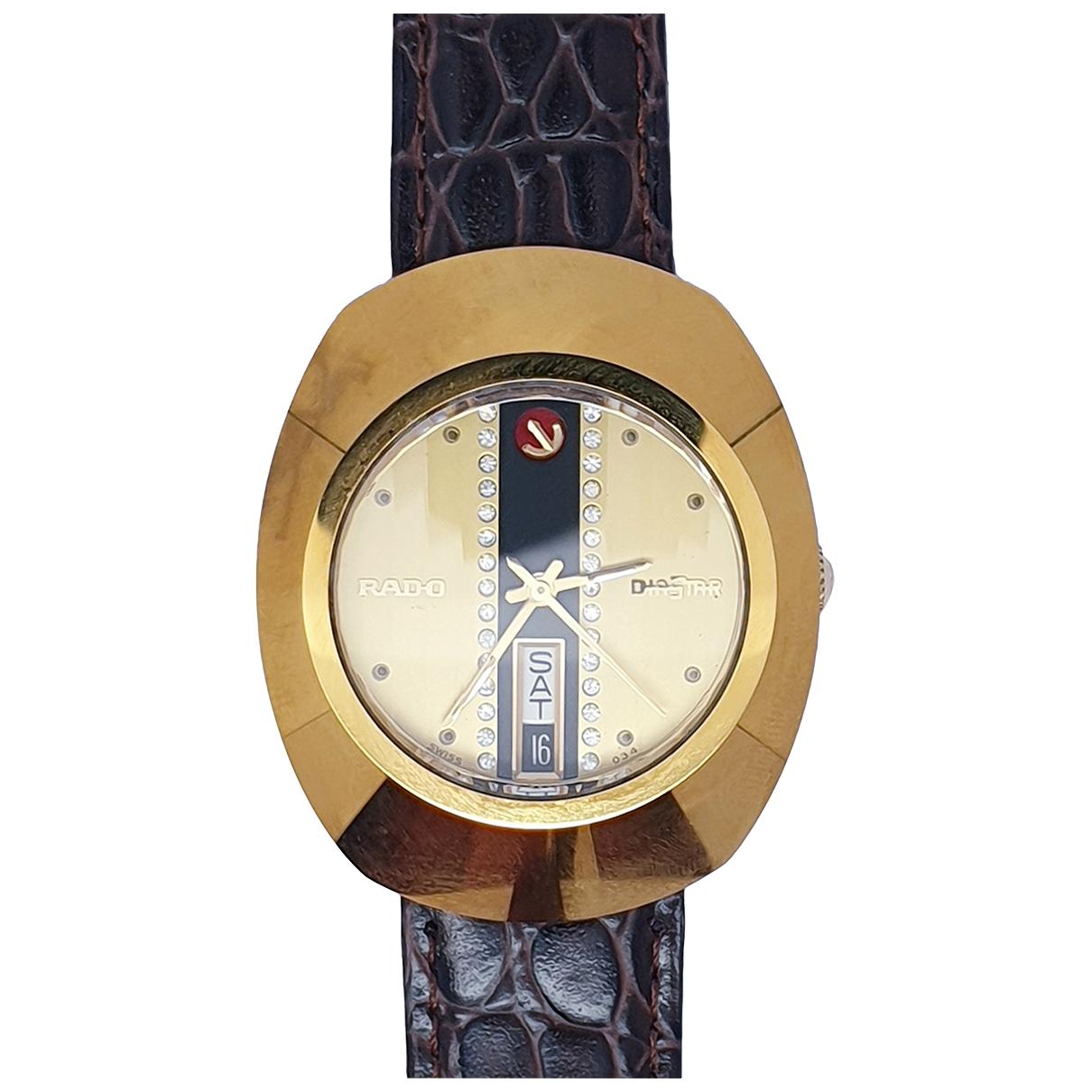 Rado \N Uhr in  Gold Vergoldet