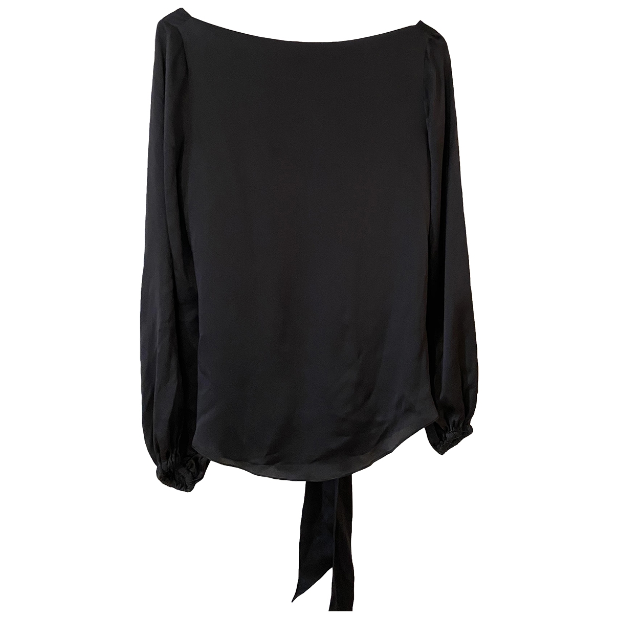 Hoss Intropia \N Black Silk  top for Women 40 FR