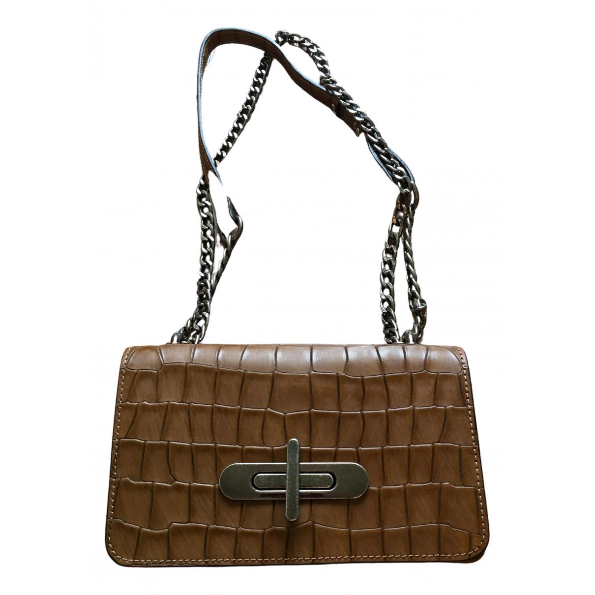 Baldinini N Brown Suede handbag for Women N