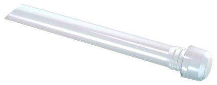 Mentor GmbH 1293.8001 MENTOR, Panel Mount LED Light Pipe, Clear Flat Lens (5)