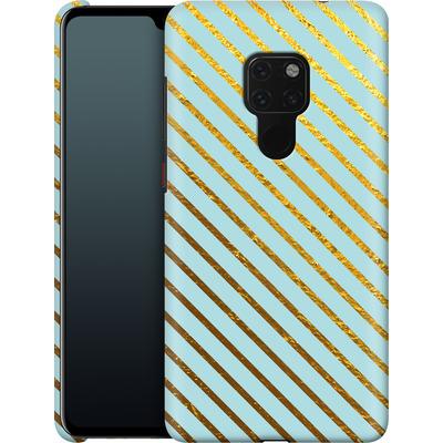 Huawei Mate 20 Smartphone Huelle - Gold Foil Stripe von Khristian Howell