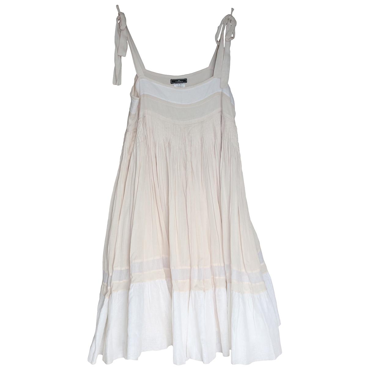 By Malene Birger \N Kleid in  Beige Viskose
