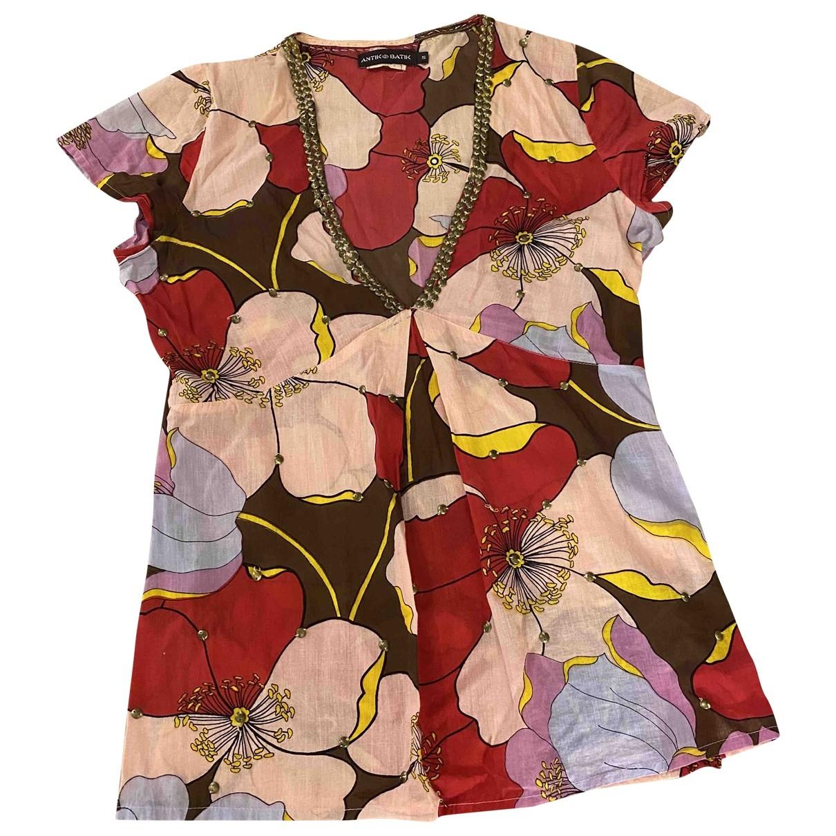 Antik Batik \N Multicolour Cotton  top for Women S International