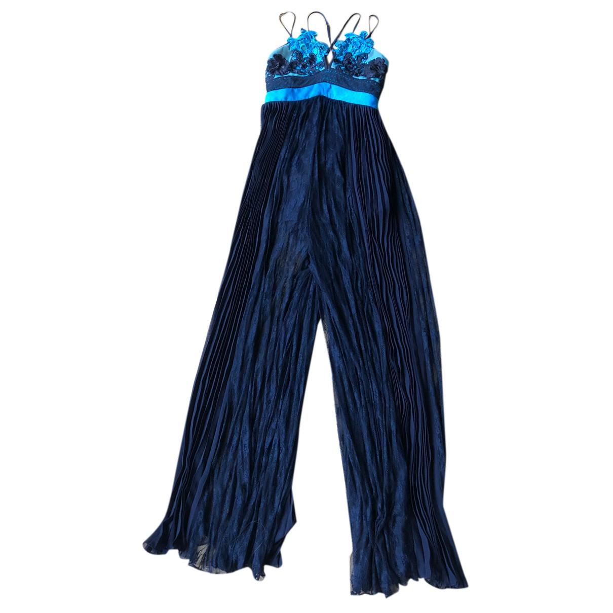 Three Floor Fashion - Combinaison   pour femme - bleu