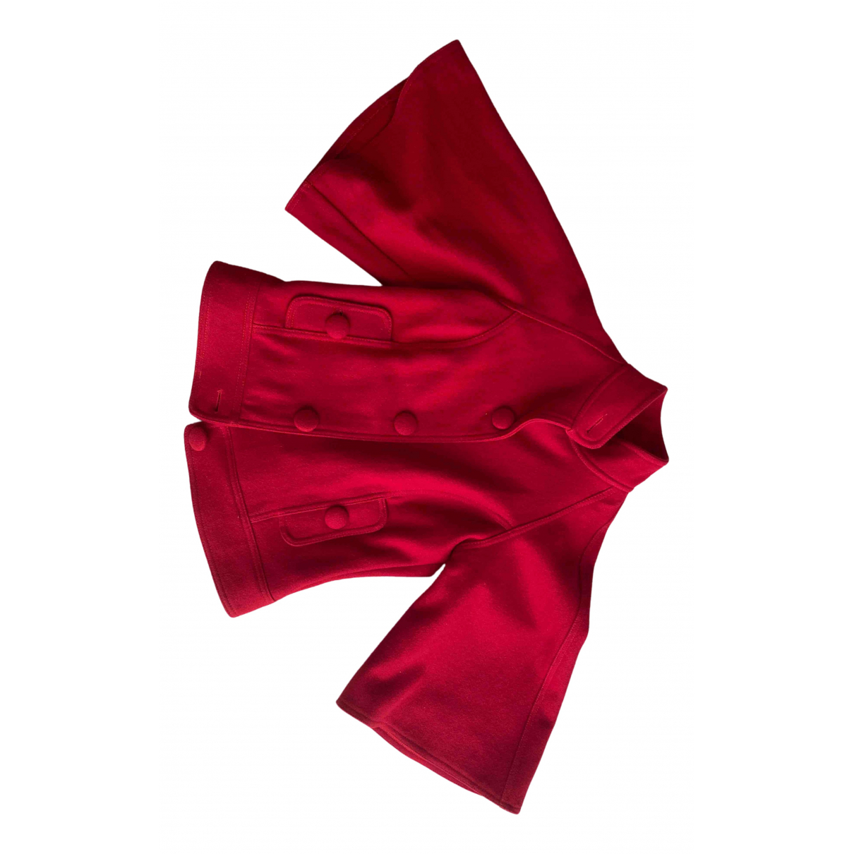 Non Signé / Unsigned Epaulettes Red coat for Women S International