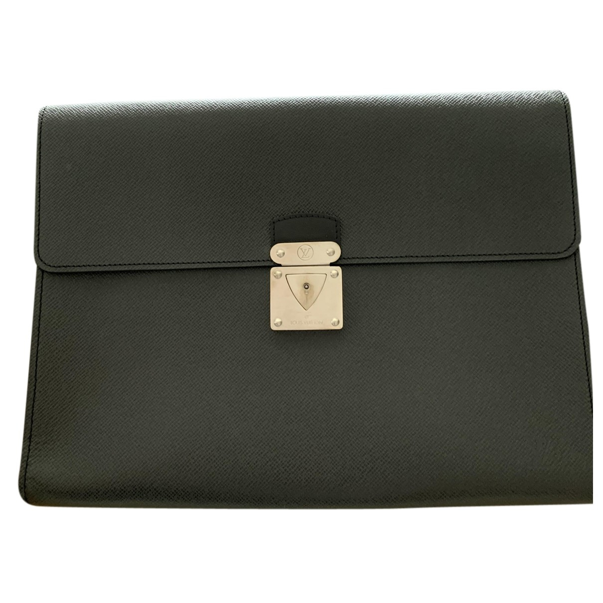 Louis Vuitton - Petite maroquinerie Multiple pour homme en cuir verni - noir