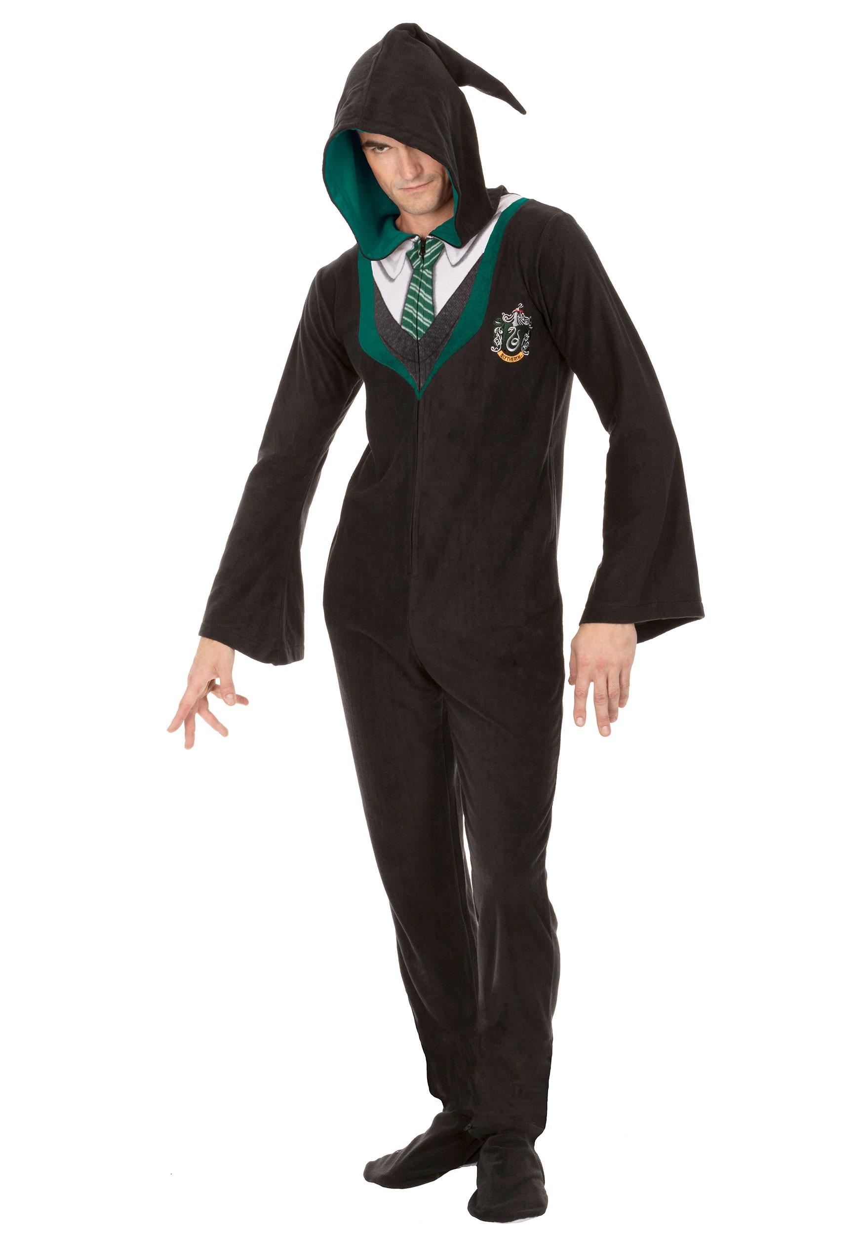 Harry Potter Slytherin Adult's Union Suit