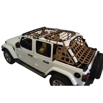 DirtyDog 4x4 Cargo Netting Kit (Sand) - JL4N18ACSD