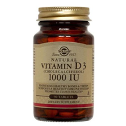 Vitamin D3 (Cholecalciferol) 180 Tabs by Solgar