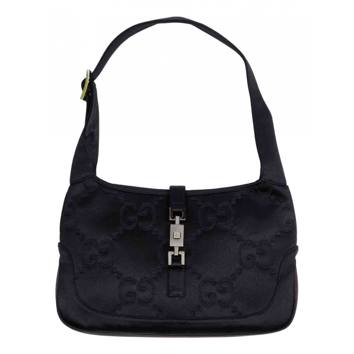 Gucci Jackie Vintage  Black Silk handbag for Women \N
