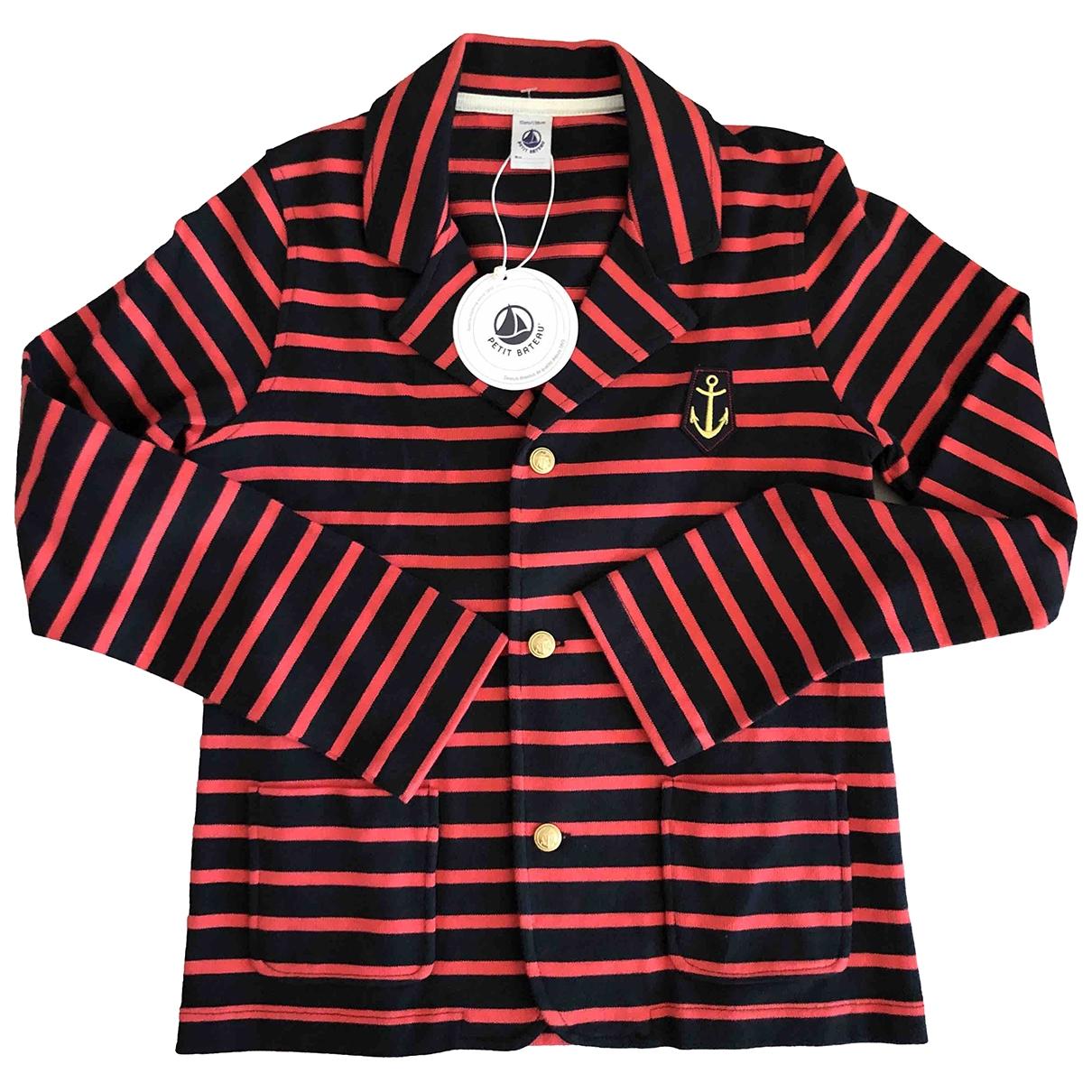 Petit Bateau - Blousons.Manteaux   pour enfant en coton - multicolore