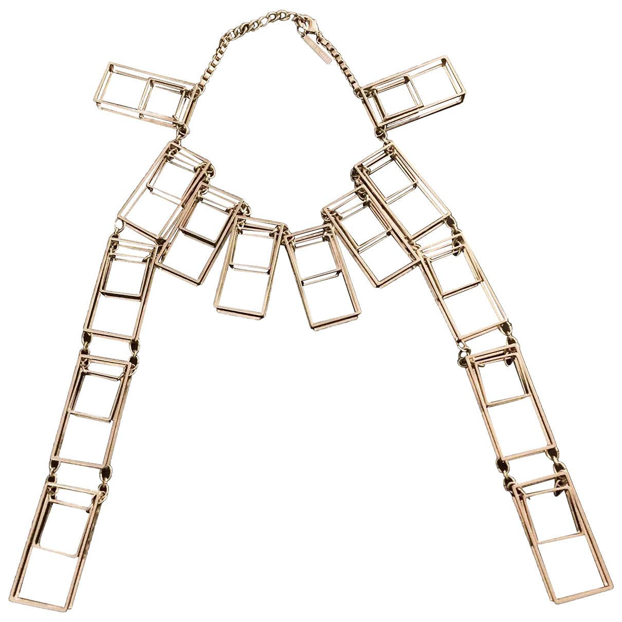 Costume National - Collier   pour femme en metal - argente