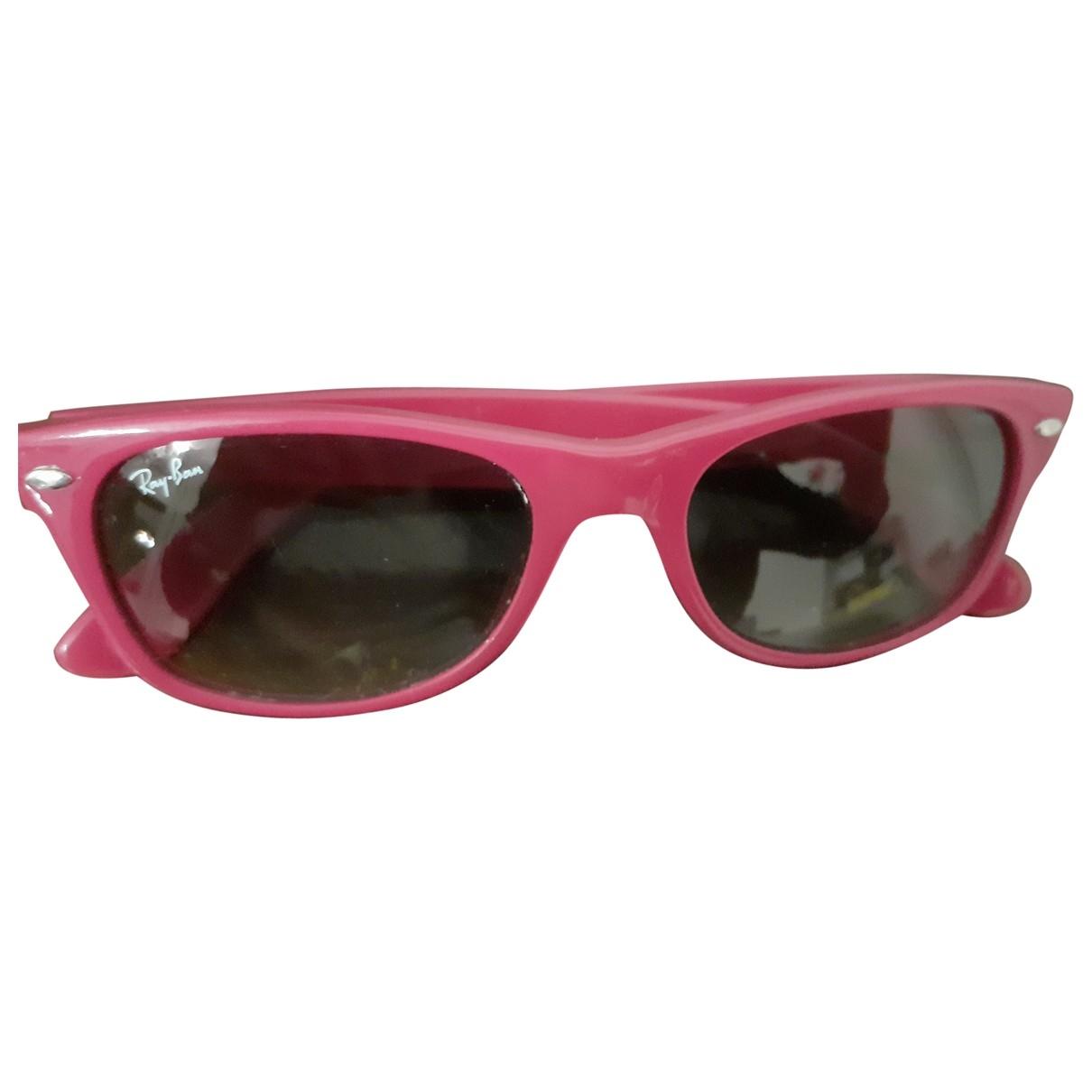 Ray-ban \N Sonnenbrillen in  Rosa Kunststoff