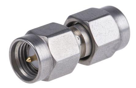 Radiall Straight 50Ω RF Adapter SMA Plug to SMA Plug 18GHz