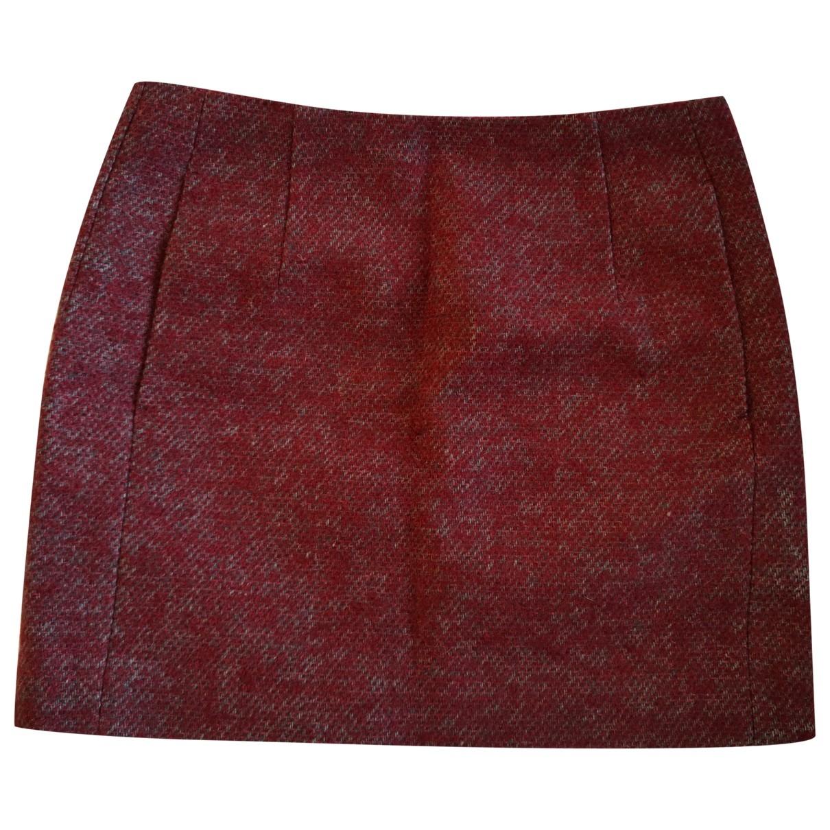 Mini falda de Lana Acne Studios