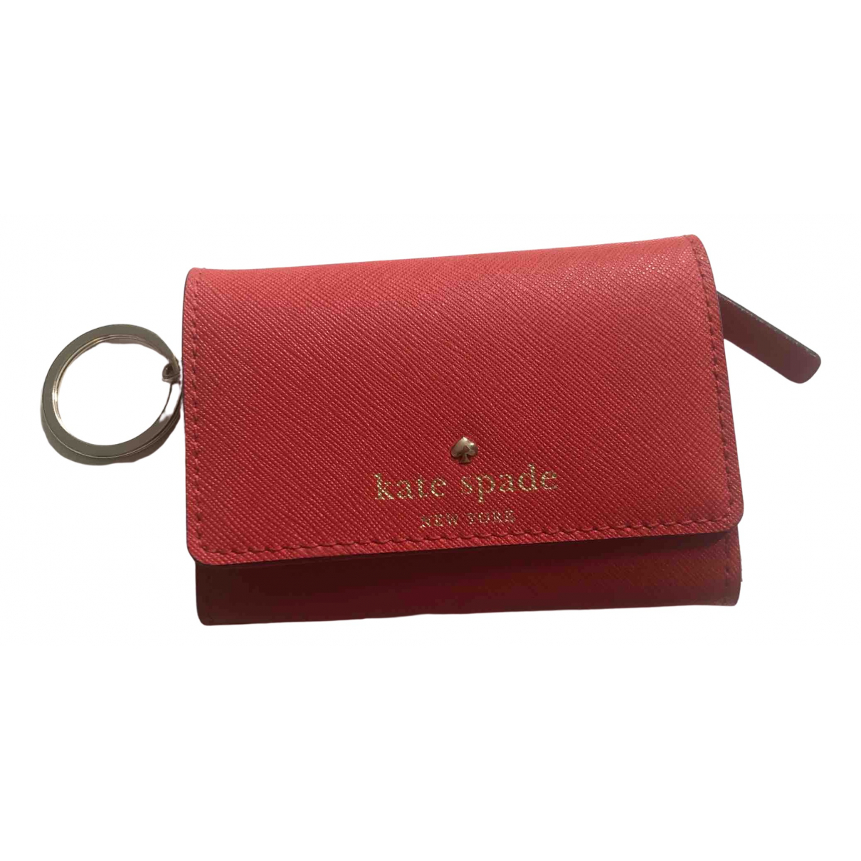 Kate Spade \N Red Leather wallet for Women \N