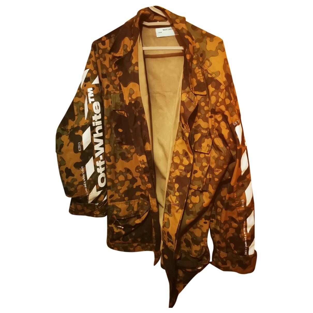 Off-white \N Khaki Cotton jacket  for Men M International