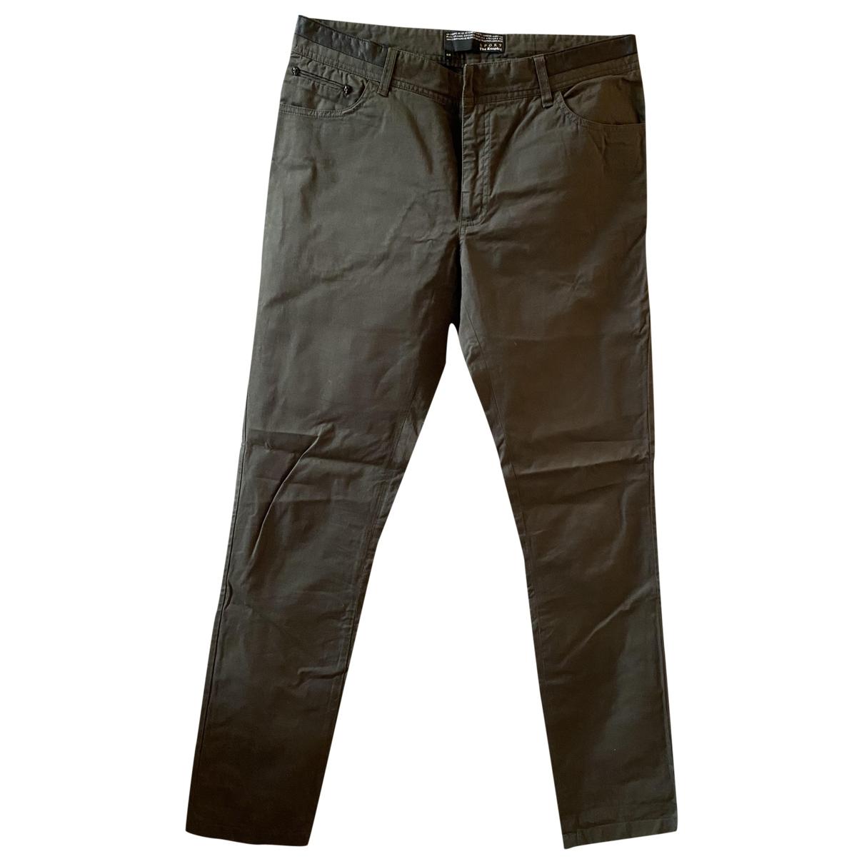 The Kooples \N Khaki Trousers for Men 48 IT