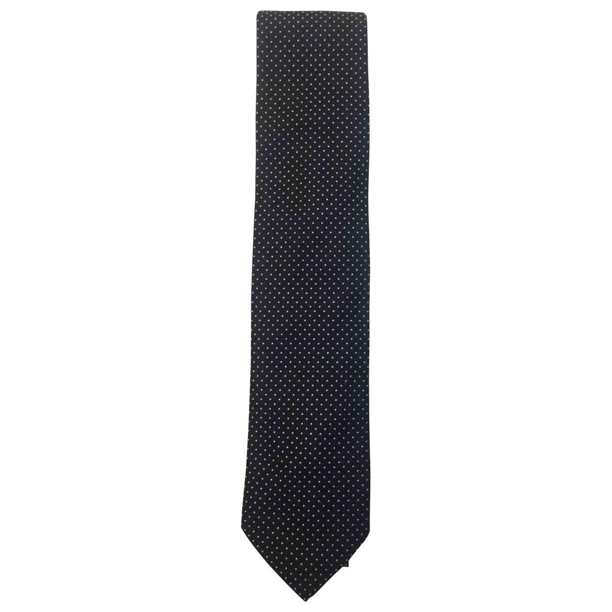 Carolina Herrera \N Krawatten in  Blau Seide