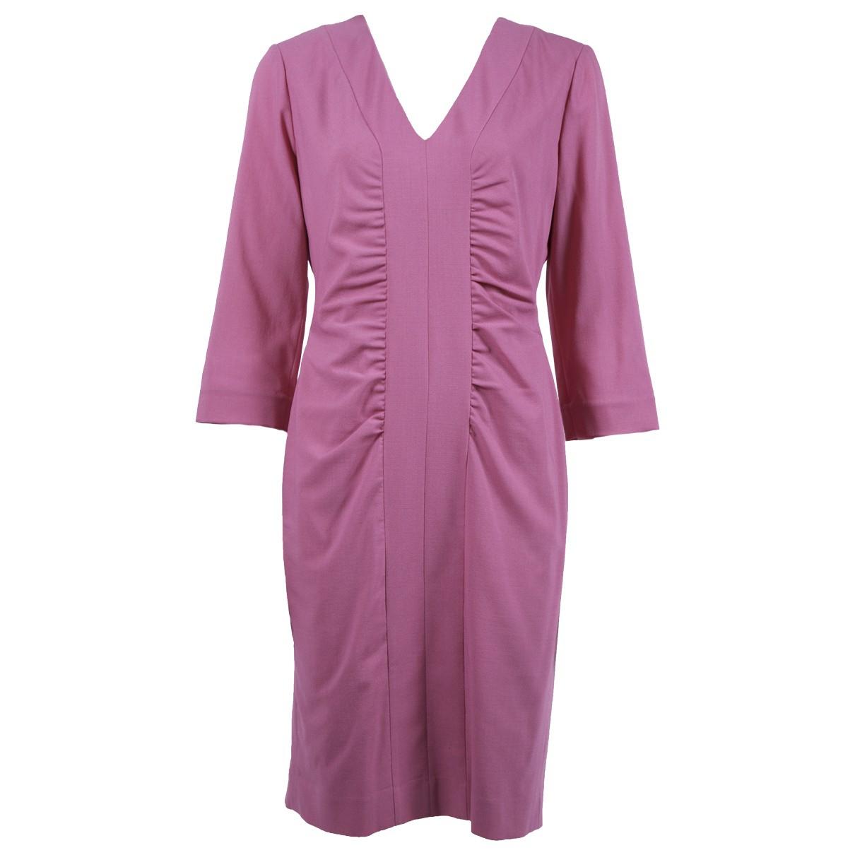 Narciso Rodriguez \N Kleid in  Rosa Wolle