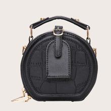 Mini Round Satchel Bag