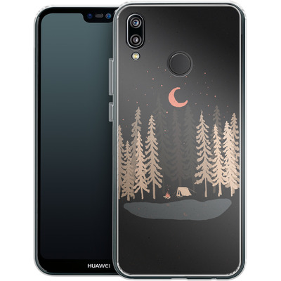 Huawei P20 Lite Silikon Handyhuelle - Feeling Small von ND Tank