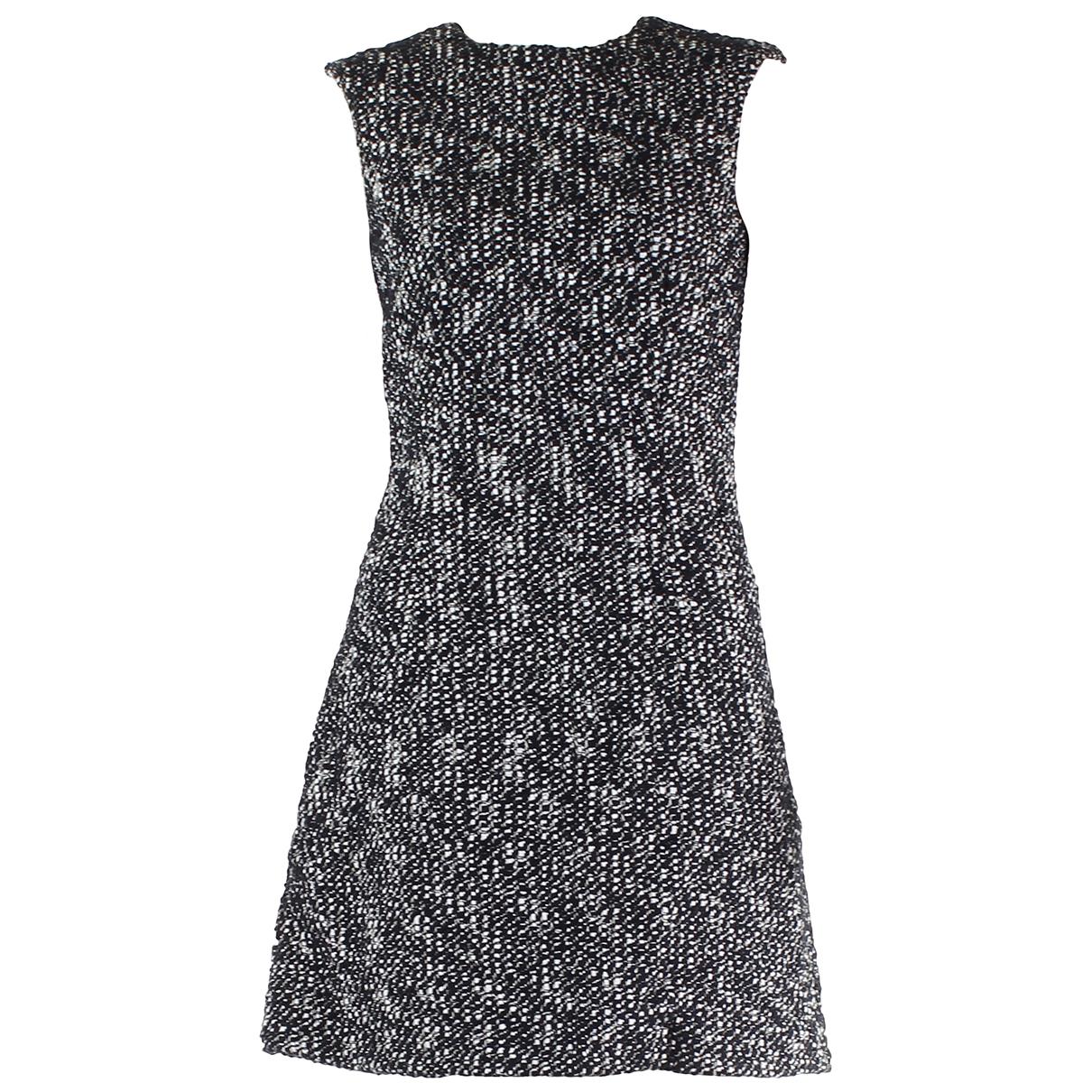 Alexander Mcqueen - Robe   pour femme en coton - noir